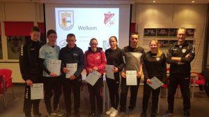 SWB spelers behalen certificaat pupillenscheidsrechter