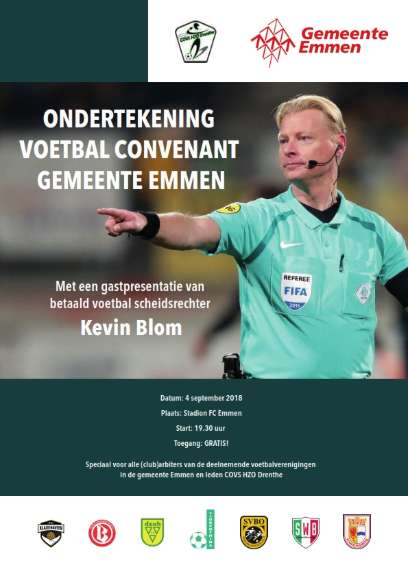 Flyer VOETBALCONVENANT
