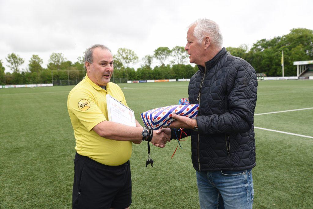 Gouden KNVB-speld voor Fred Janssen