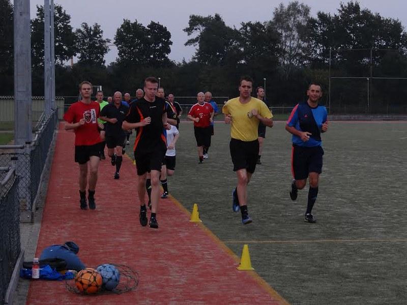 Training voorzichtig weer van start