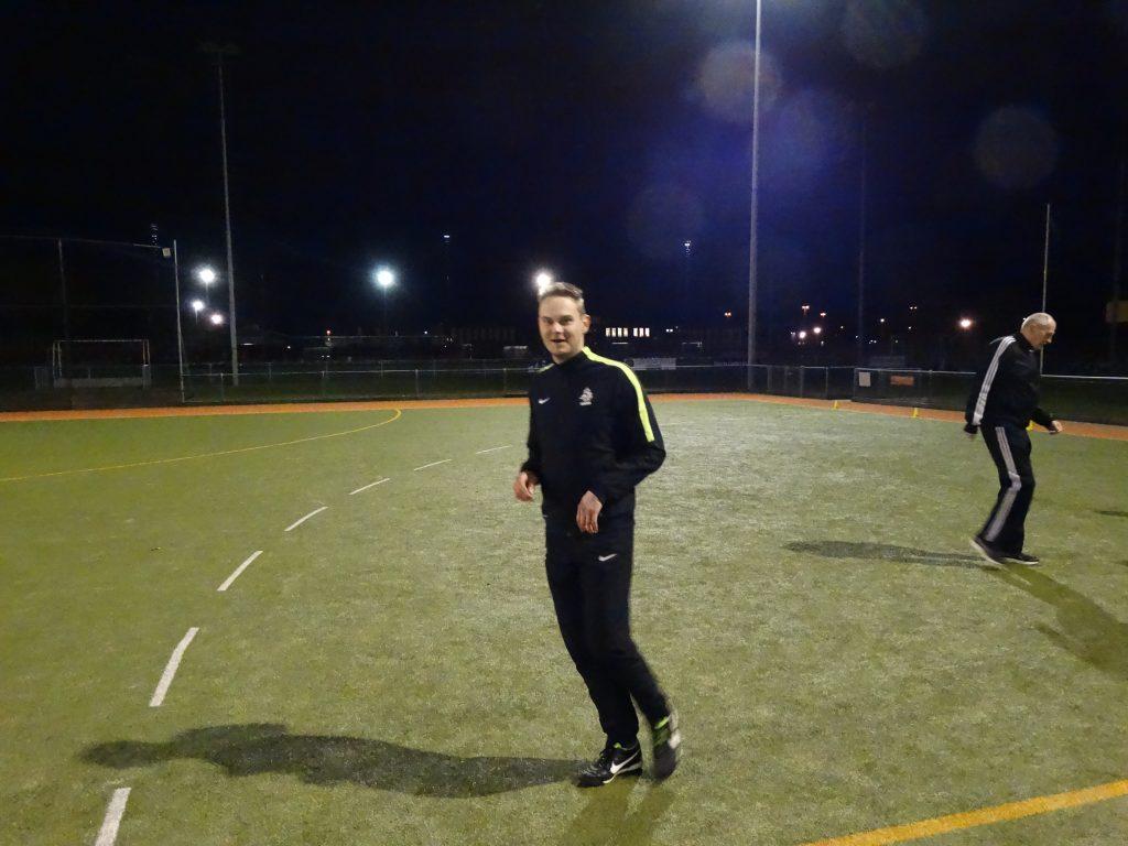 Training HZO Drenthe weer hervat.